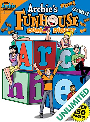 Archie's Funhouse Comics Digest #8